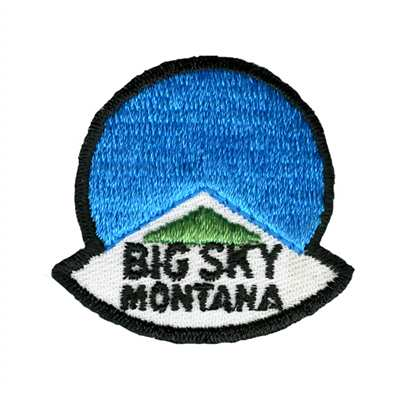 Big Sky Montana Logo Collector Ski Patch