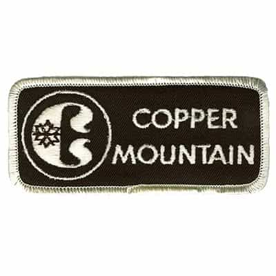 Copper Mountain Colorado Vintage Ski Patch