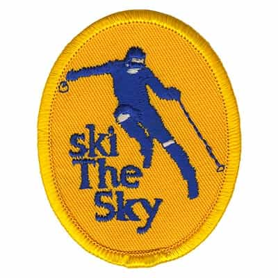 Big Sky Montana Vintage Ski The Sky Patch