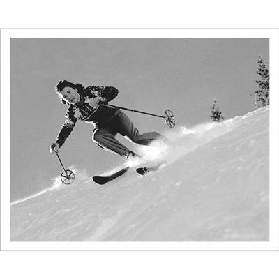 Miggs Durrance Skiing at Aspen Photo (5 Sizes)