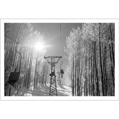 Aspens Famous Old Lift 1 Photo (5 Sizes)