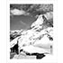 Matterhorn Skiers in Zermatt Photo (2 Sizes)