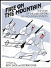 Fire On The Mountain - Film Promotion Ski Poster