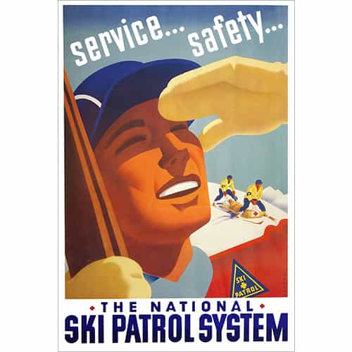 National Ski Patrol Poster