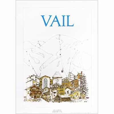 Vail Classic Original Poster by Jim Ford (2 Sizes)