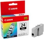 Canon BCI-24BK Genuine Black Inkjet Ink Cartridge 6881A022