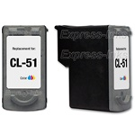 Canon CL-51 Tri-Color Inkjet Ink Cartridge 0618B002