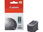 Canon PG-50 Genuine Black Inkjet Ink Cartridge