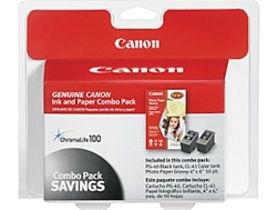 Canon PG-40/CL-41Ink Genuine 50-Sheet Photo Value Pack