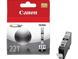 Canon CLI-221BK Genuine Black Ink Cartridge 2946B001