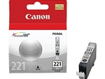 Canon CLI-221G Genuine Grey Ink Cartridge 2950B001