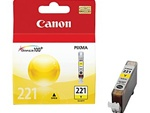 Canon CLI-221Y Genuine Yellow Ink Cartridge 2949B001
