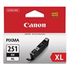 Canon CLI-251XL Genuine Black Ink 6448B001