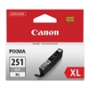 Canon CLI-251XL Genuine Gray Ink 6452B001