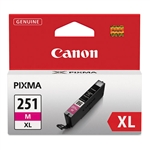 Canon CLI-251XL Genuine Magenta Ink 6450B001