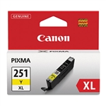 Canon CLI-251XL Genuine Yellow Ink 6451B001