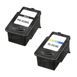 Canon PG-210XL/ CL-211X Compatible Ink Cartridge Combo