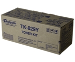 Copystar TK-829Y Genuine Yellow Toner Cartridge
