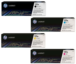 HP M251NW 4-Pack Genuine Toner Cartridge Combo