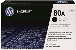 HP CF280A Genuine Black Toner Cartridge 80A