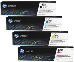 HP CF350A-3A 4-Pack Genuine Toner Cartridge Combo