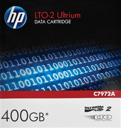 HP C7972A Ultrium LTO-2 Data Cartridge