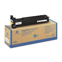 Konica Minolta A06V433 Genuine Cyan Toner Cartridge