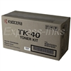 Kyocera Mita TK-40 Genuine Toner Cartridge TK40