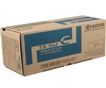 Kyocera Mita TK-562C Genuine Cyan Toner Cartridge TK562C