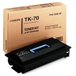 Kyocera Mita TK-70 Genuine Toner Cartridge TK70, 370AC010