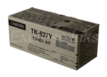 Kyocera Mita TK-827Y Genuine Yellow Toner Cartridge