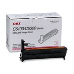 Okidata 42126602 Genuine Magenta Imaging Drum Cartridge