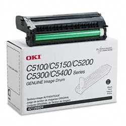 Okidata 42126604 Genuine Black Imaging Drum Cartridge