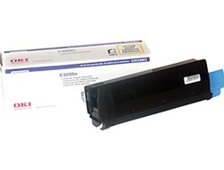 Okidata 43034801 Yellow Toner Cartridge
