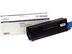 Okidata 43034802 Magenta Toner Cartridge