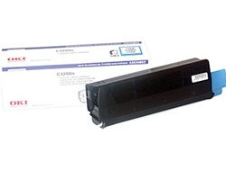 Okidata 43034803 Genuine Cyan Toner Cartridge