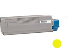 Okidata 43324401 High Yield Yellow Toner Cartridge