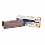 Okidata 43324417 Genuine C8 Yellow Toner Cartridge