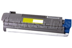 Okidata 43324417 Compatible C8 Yellow Toner Cartridge