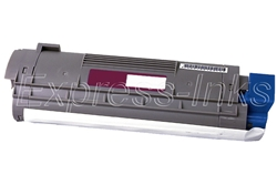 Okidata 43324418 Compatible C8 Magenta Toner Cartridge