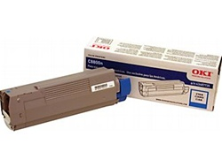 Okidata 43487735 Genuine Cyan Toner Cartridge