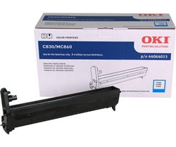 Okidata 44064015 Genuine Cyan Drum Cartridge C14