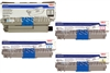 Okidata Type C17 4-Pack Genuine Toner Cartridge Combo