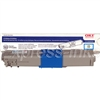 Okidata 44469703 Genuine Cyan Toner Cartridge