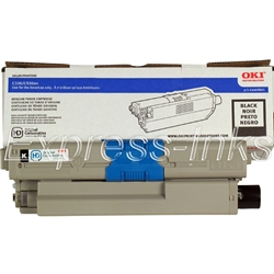 Okidata 44469801 Genuine Black Toner Cartridge