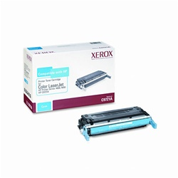 Xerox 6R942, HP 4650 Cyan Toner Cartridge C9721A
