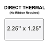 Zebra 10015341 Direct Thermal Label Paper