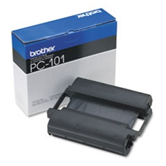 Brother PC101 Genuine Fax Thermal Ribbon Cartridge PC-101