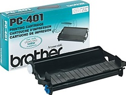 Brother PC401 Genuine Thermal Fax Ribbon Cartridge PC-401