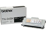 Brother TN04BK Genuine Black Toner Cartridge